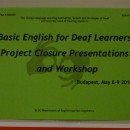 Project Closure Presentations and Workshop